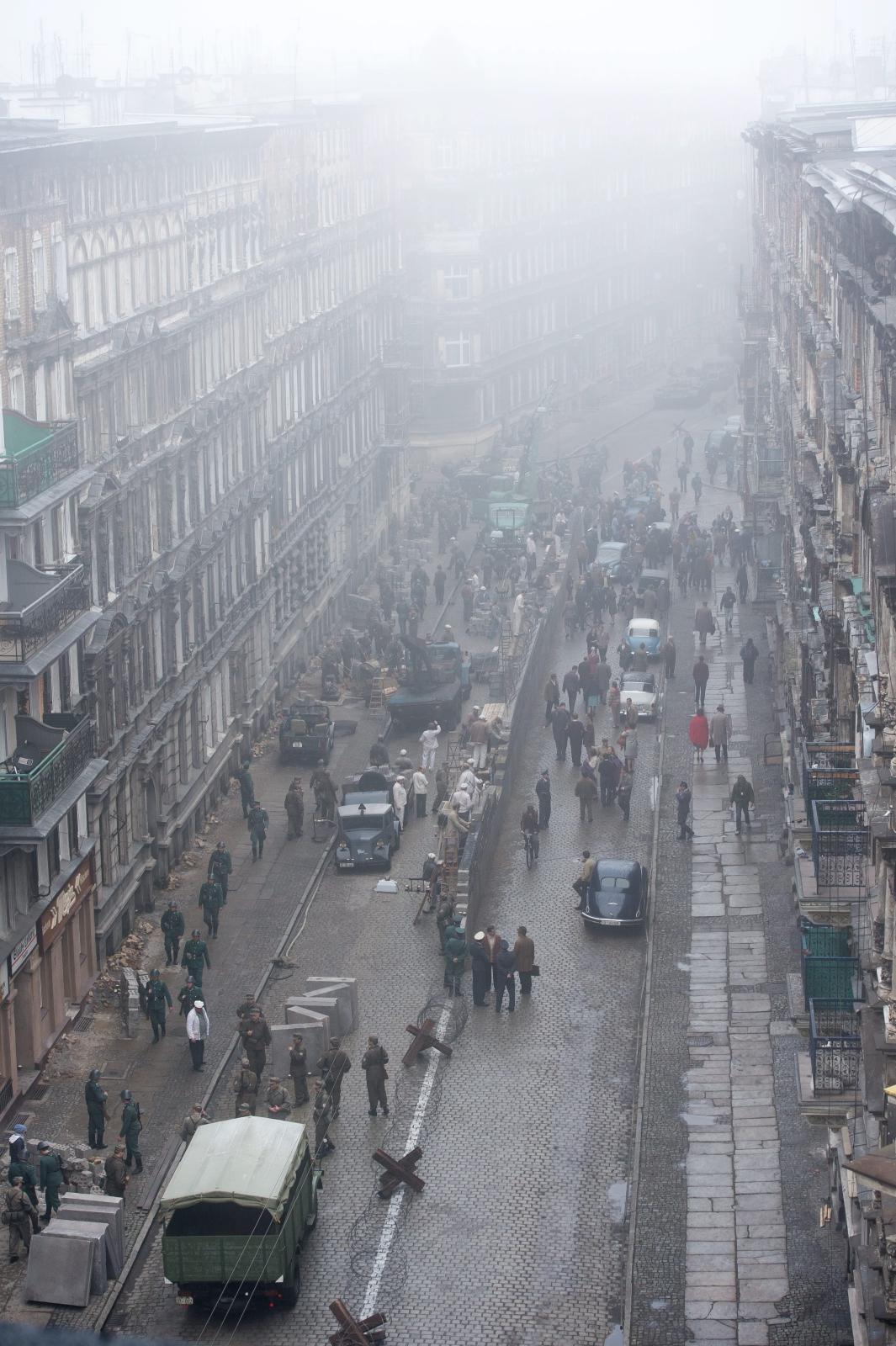 Na ulicy Mierniczej we Wrocławiu ruszyły 17 bm. zdjęcia do najnowszego filmu Stevena Spielberga