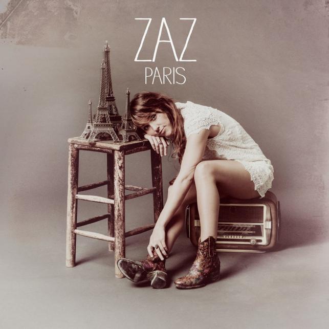 """Zaz na okładce albumu """"Paris"""""""