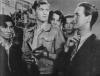 """Stanisław Mikulski w filmie """"Pierwszy start"""" (1950)"""