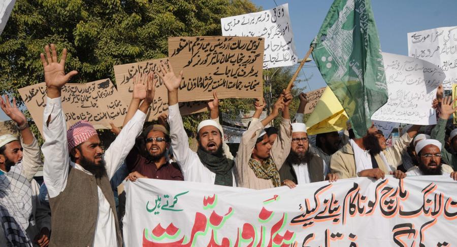 Islamiści protestują przeciw Asi Bibi