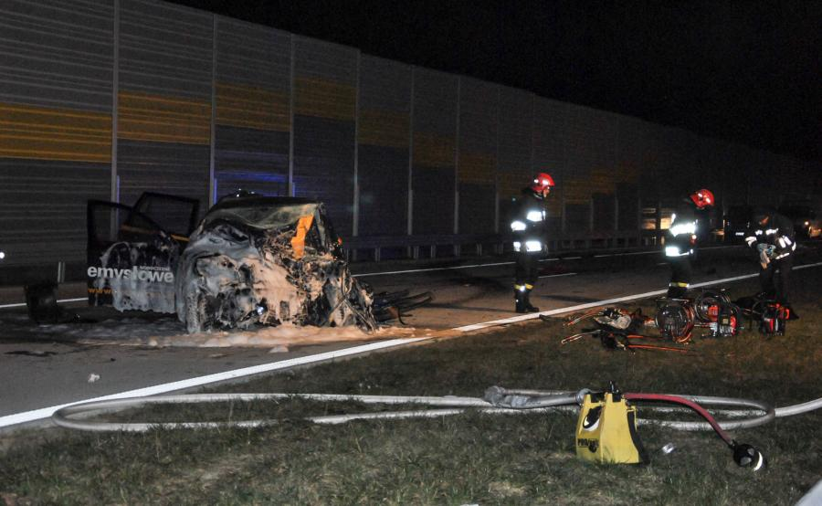 Tragiczny wypadek na S8