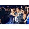 Rihanna z dziadkiem na parkiecie