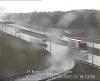 Poślizg i wypadek na węźle Emilia na autostradzie A2