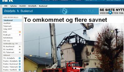 Siedmiu Polaków spłonęło w domu w Norwegii