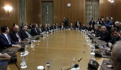 Posiedzenie rządu Grecji