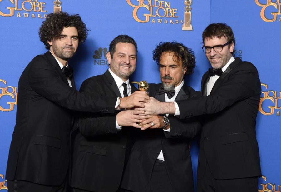 """Najlepszy scenariusz:<br>Alejandro González Iñárritu, Nicolás Giacobone, Alexander Dinelaris, Armando Bo – """"Birdman"""""""