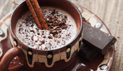 Gorąca czekolada z cynamonem