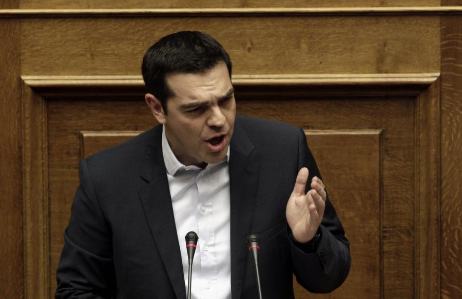Premier Grecji Alexis Tsipras