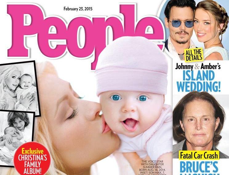 Christina Aguilera pokazała światu córeczkę