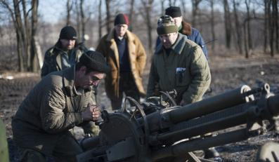 Stanowisko bojowe niedaleko Ługańska