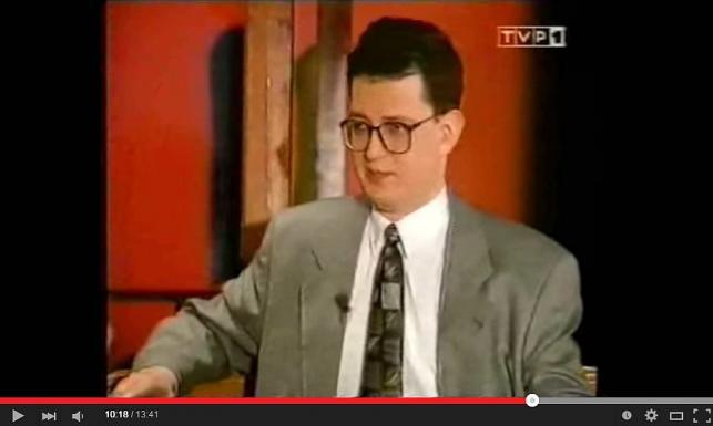 Rafał Ziemkiewicz 20 lat temu. Zmienił się?
