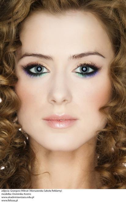 Modny makijaż dla blondynki na wiosnę 2015