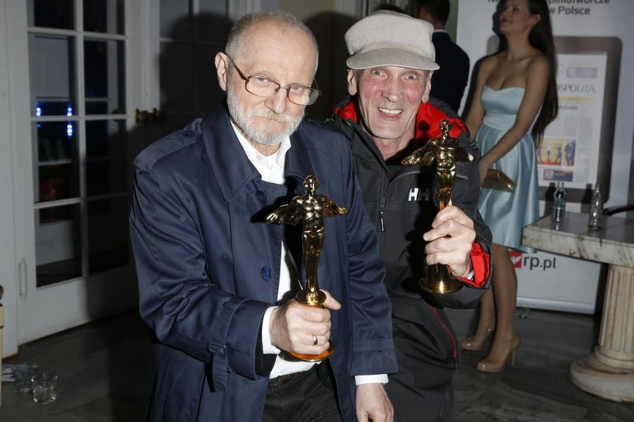 Goście honorowi: Janusz Muniak i Lech Janerka