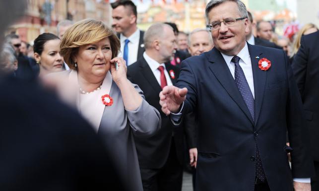 Anna Komorowska o wpadkach prezydenta: Błędów nie robi ten, kto nic nie robi
