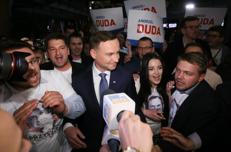 Andrzej Duda po debacie