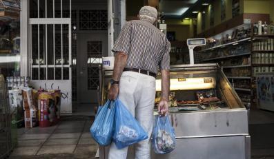 Grecki supermarket