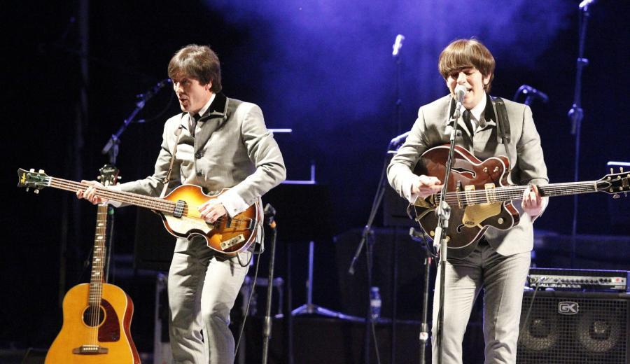 The Bootleg Beatles podczas występu w Madrycie