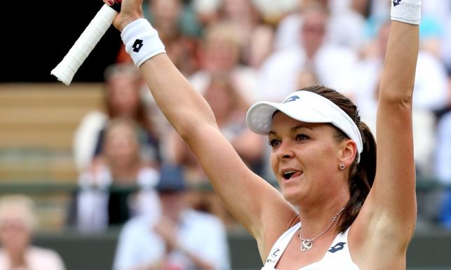Agnieszka Radwańska wraca na szczyt. Polka podbija Wimbledon. ZDJĘCIA