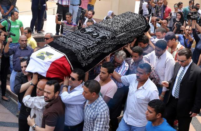 Pogrzeb Omara Sharifa w Kairze
