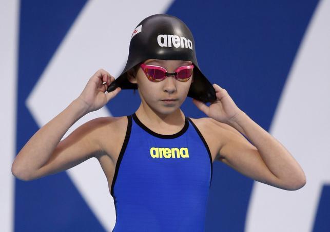 Alzain Tareq ma zaledwie 10 lat, a już wystartowała w MŚ w pływaniu