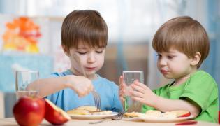 Posiłek w przedszkolu