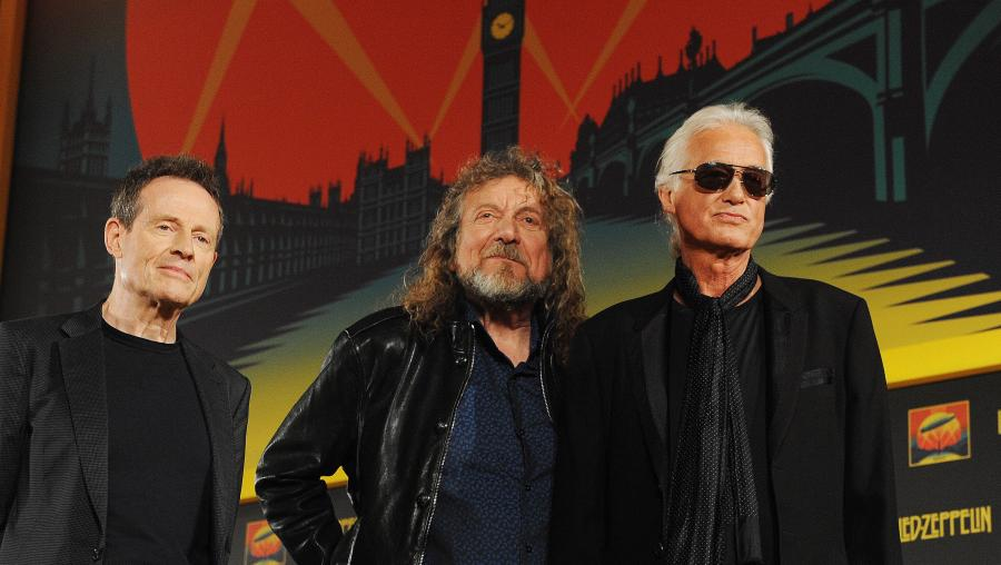 Led Zeppelin: John Paul Jones, Robert Plant i Jimmy Page
