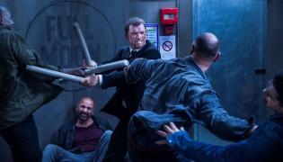 """Szybki i wściekły Ed Skrein w filmie """"Transporter: Nowa moc"""""""