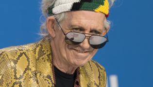 Keith Richards tym razem bez The Rolling Stones
