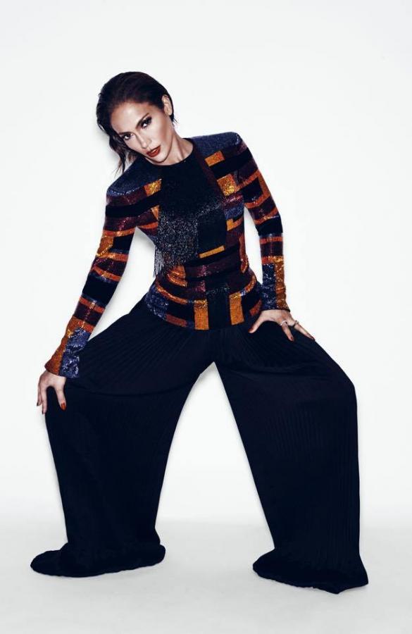 "Jennifer Lopez w sesji dla magazynu ""Paper"""