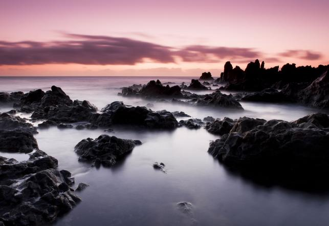 Plaża Los Hervideros, Lanzarote, Wyspy Kanaryjskie
