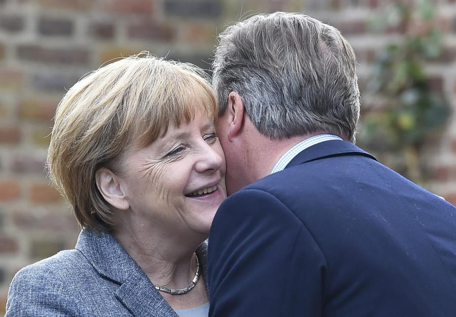 Angela Merkel i David Cameron