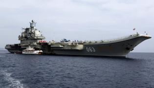 Admirał Kuźniecow - jedyny rosyjski lotniskowiec