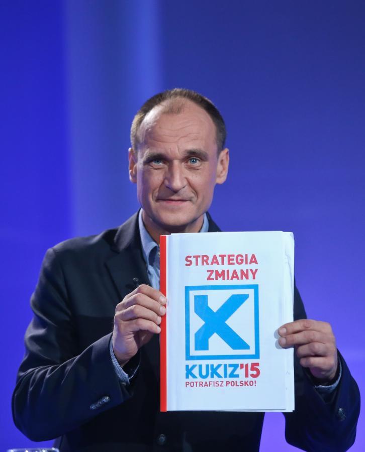 Lider ruchu Kukiz`15 Paweł Kukiz