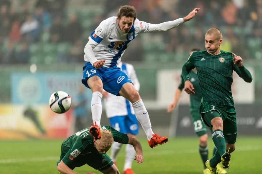 Ekstraklasa: Śląsk Wrocław - Lech Poznań 1:1 - Ekstraklasa