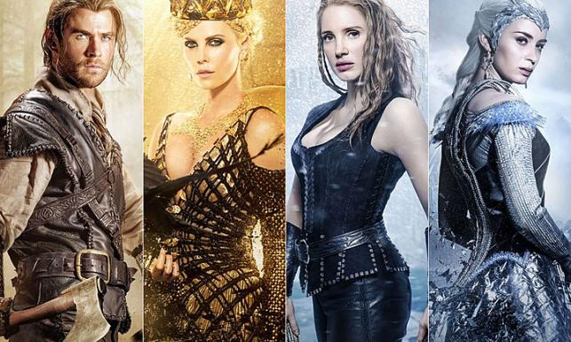 Nadchodzi zima, a z nią Charlize Theron, Jessica Chastain i Królowa Lodu Emily Blunt [ZDJĘCIA]