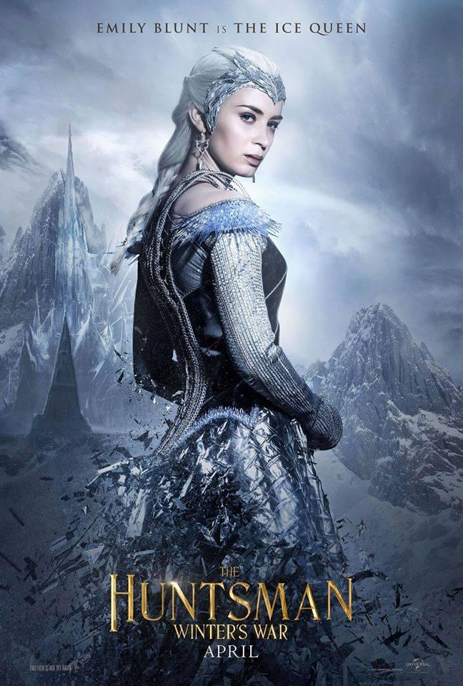 Emily Blunt jest królową lodu