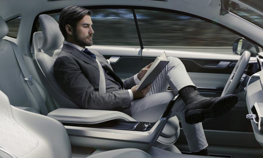 Volvo Concept 26 - autonomiczne auto przyszłości