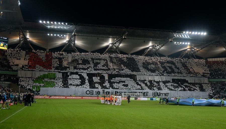 Nieznani Sprawcy obchodzili swoje święto na trybunach stadionu Legii