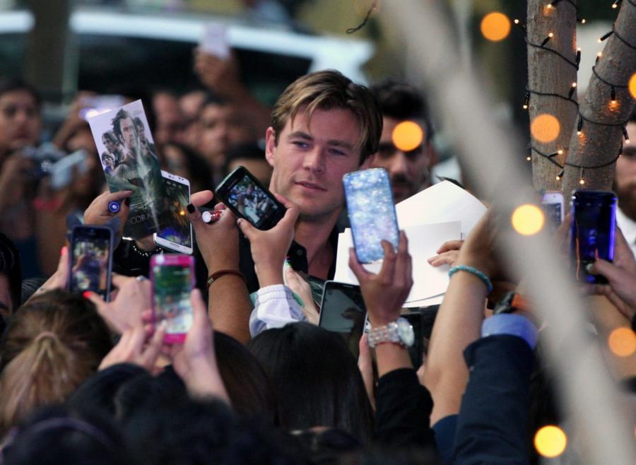 Chris Hemsworth w Meksyku
