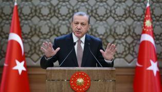 Turecki prezydent Recep Tayyip Erdogan