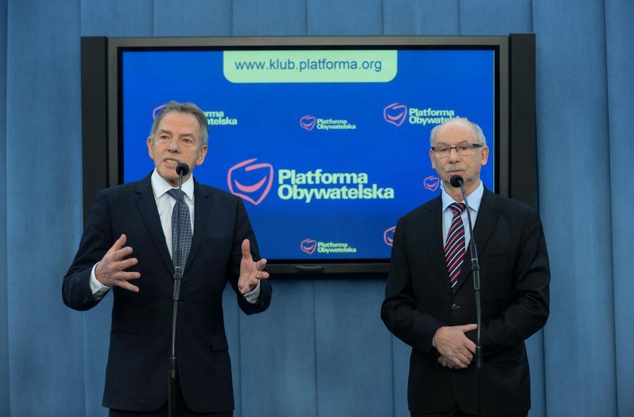 Janusz Lewandowski i Dariusz Rosati