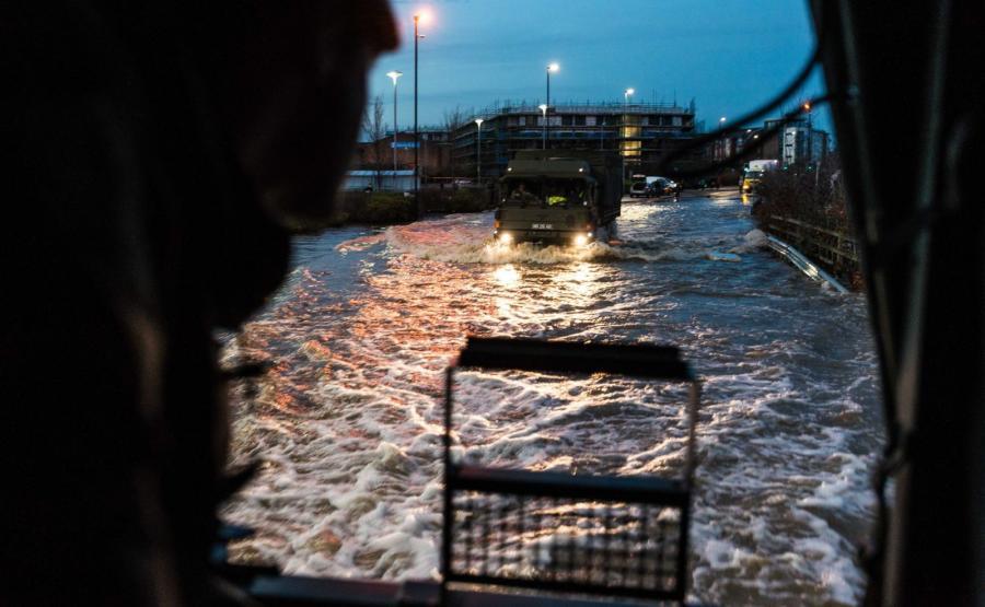 Powódź w Wielkiej Brytanii, miasto York