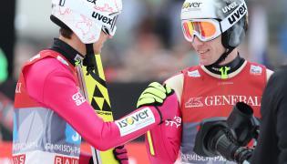 Kamil Stoch i Stefan Hula