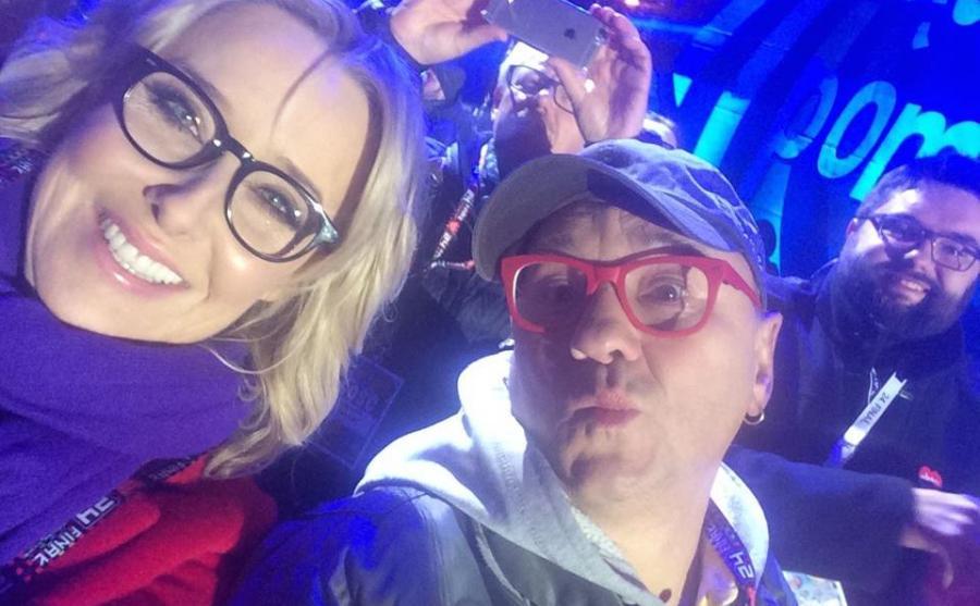 Paulina Młynarska i Jerzy Owsiak
