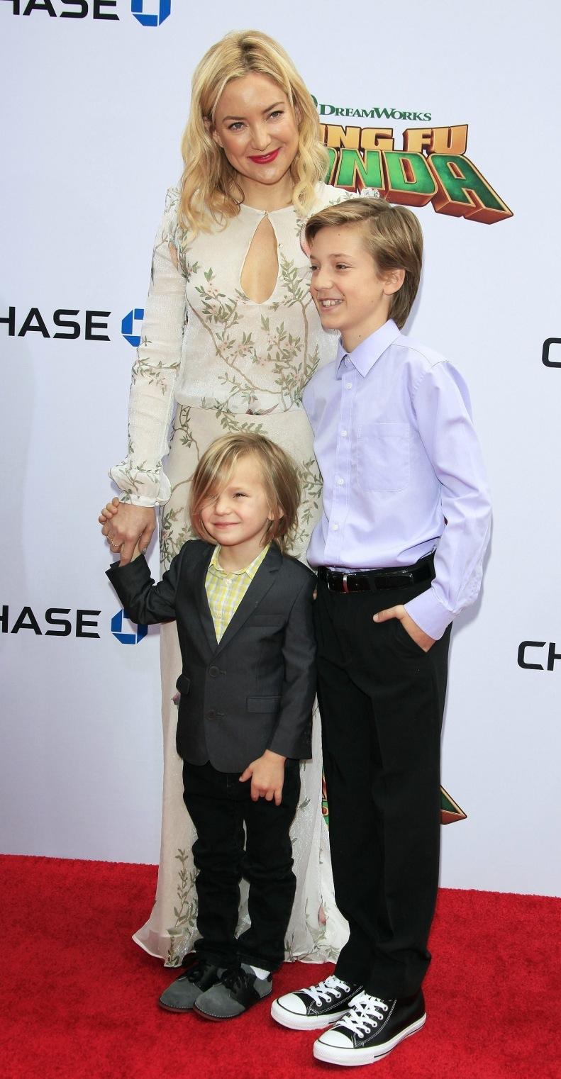 Kate Hudson i jej dzieci: Ryder i Bingham