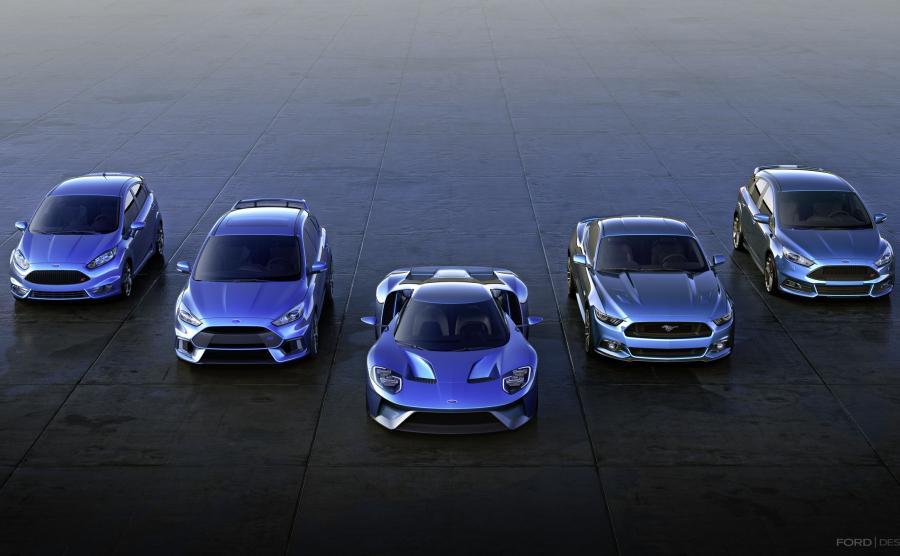 Ford zwiększa produkcję samochodów o wysokich osiągach przeznaczonych na rynek europejski