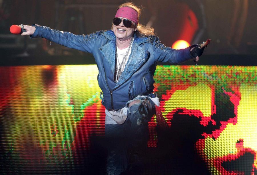 Guns N\'Roses najpierw zagra w Las Vegas