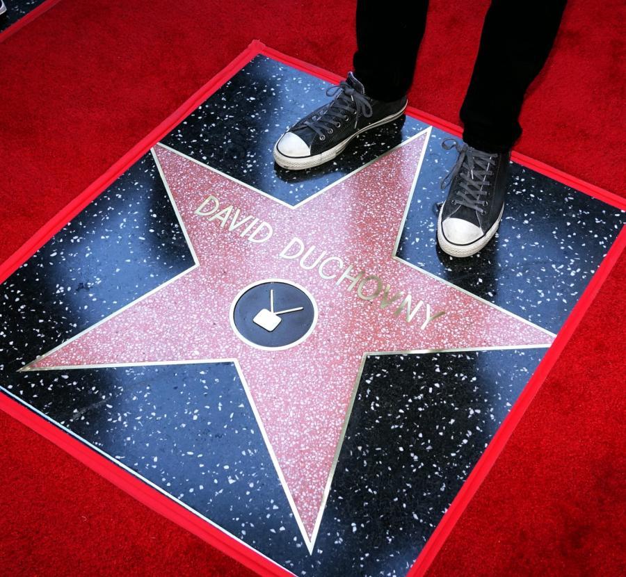 David Duchovny ma gwiazdę na słynnej hollywoodzkiej Alei Sław