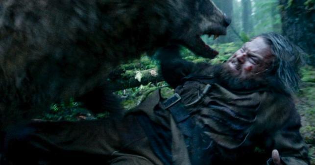 """Leonardo DiCaprio kontra """"miś"""" w """"Zjawie"""""""