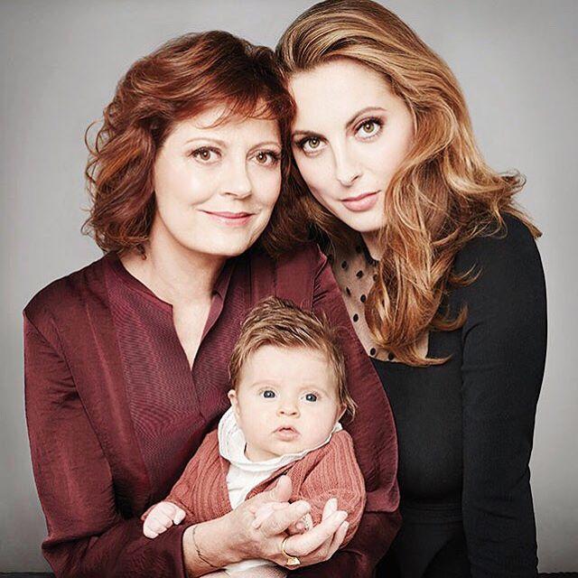 Matka, córka i wnuczka: Susan , Eva i Marlowe Mae